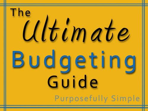 Ultimate Budgeting