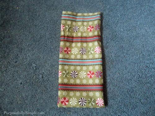Fabric gift bag tutorial 8