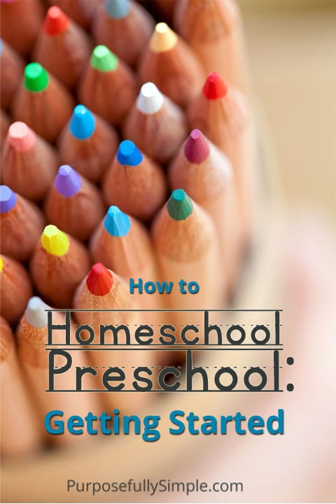 Find out how I got started with our homeschool preschool and learn my tips for how you can plan your own homeschool preschool that works for your family.